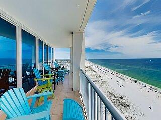 15th-Floor Gulf Coast Corner-Unit w/ 2 Balconies - Infinity Pool & Sauna