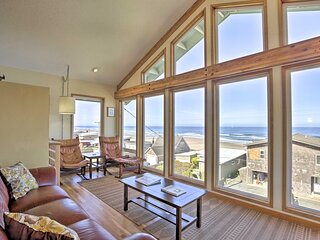 NEW! Large Ocean View Home, 450 Feet From Beaches