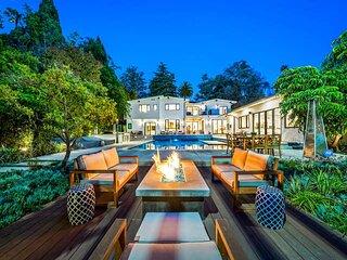 The Beverly Hills Estate & Tennis Court