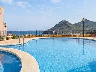 Nice home in La Manga with Outdoor swimming pool, WiFi and 3 Bedrooms (ECC914)