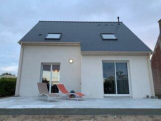 Maison neuve à 350m de la mer «La casa Sovaïna»