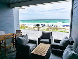 6BR/7BA Beachfront Townhome!  Rooftop Pool, Theater Room, and More!!!