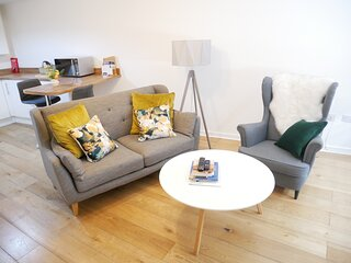 Nordic 1 Bedroom Apartment in Ulverston Town Centre
