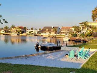 NEW! Waterfront Pool Home w/ Beach & Gulf Access!