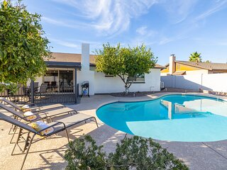 New! Beautifully Updated, Sunny Home w/ Heated Pool