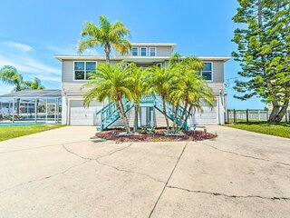 NEW! Updated Home w/ Outdoor Oasis, 2 Mi to Beach