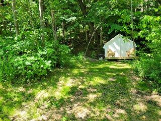 Tentrr State Park Site - WV Hawk's Nest State Park - Site G - Single Camp