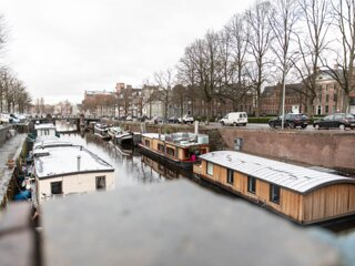 Glamorous Wellnessboat for a Unique Stay in the City Center of Groningen