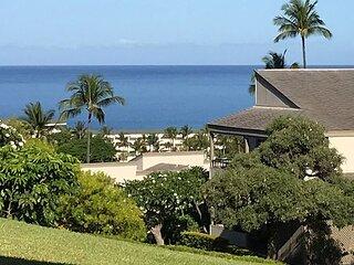 Wailea Ekolu #805 Deluxe 2Bd/2Ba, Ocean View Townhouse! Full A/C, Sleeps 4