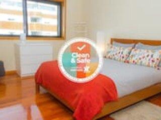 Liiiving in Matosinhos | City Beach Apartment, location de vacances à Leca da Palmeira