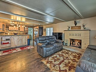 NEW! Updated Payson Retreat w/ Patio, Grill & Yard