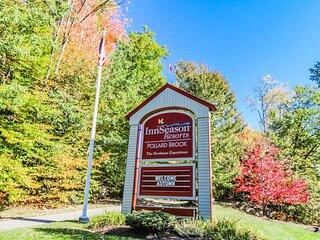 Enjoy Foliage Season at Pollard Brook Resort in Lincoln NH!