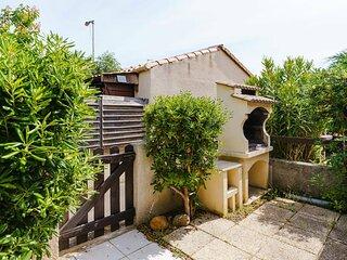 H116 : GRUISSAN : Villa 2 pieces mezzanine 4 couchages