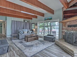NEW! Lakefront Osage Beach House w/ On-Site Dock!