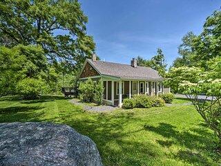 NEW! Charming Cottage w/ Deck: Mtn + Lake Views!