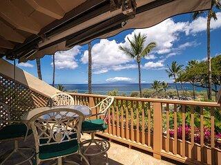 Maui Kamaole #A-207 OCEAN VIEW 2BD/2BA beautiful front row unit, sleeps 4