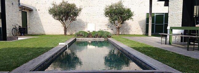 Villa de Luxe centre Saint-Martin, location de vacances à Saint-Martin-de-Ré