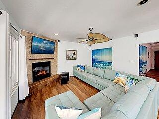 Lakefront Lagoon | Fireplace, Hot Tub, Resort-Style Pool & Patio Lounge