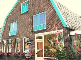 Family appartement near the ocean, dunes and town