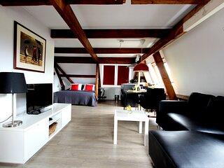 Remarkable 2-person studio in Egmond aan Zee