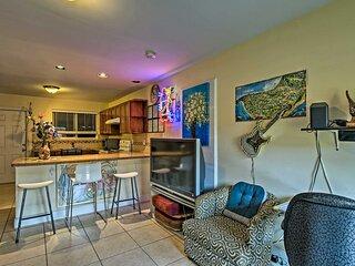 NEW! Inviting Family Apartment < 3 Mi From Coast!