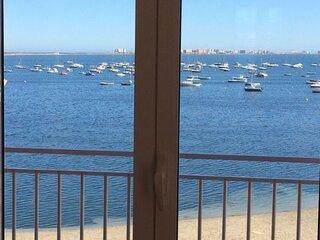 Piso en primera linea con vistas fantasticas al Mar Menor