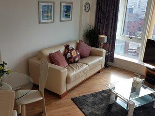Nottingham City Centre spacious 2 bed apartment