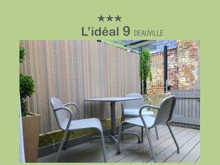 L'IDEAL 9*** : maisonnette + terrasse (Place Morny a 50m)