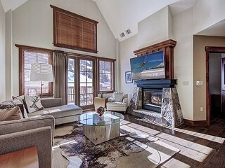 One Ski Hill Place 8509: Stunning Slope Side Condo at the Base of Peak 8