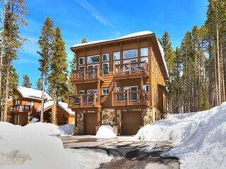 White Cap Lodge: Stunning Townhome With Spectacular Views Of Breckenridge