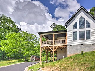 Modern Mtn Getaway 5 Miles to Downtown Asheville