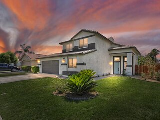 NEWLY RENOVATED 5 BEDROOM, 3 BATH, IN UP AND COMING INDIO COMMUNITY