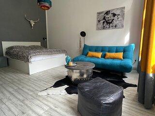 GORLITZ - DESIGN Apartment II, hell, 45qm ZKB, Zentral zu Grenze Altstadt Park