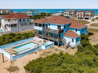 Atlantic Belle | 445 ft from the beach | Private Pool, Hot Tub | Southern Shores