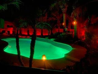 Tropical Resort Like Pool Home