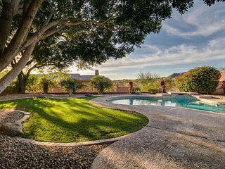 North Scottsdale Sanctuary w/ Htd Pool and Views