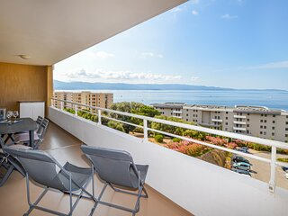 Stunning apartment in Ajaccio with WiFi and 1 Bedrooms (FKO401)