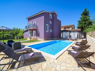Stunning home in Perci with WiFi and 5 Bedrooms (CIE560)