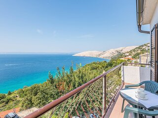 Awesome home in Punat with WiFi and 2 Bedrooms (CKK979)