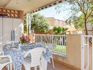 Stunning apartment in La Manga with WiFi and 3 Bedrooms (ECC859)