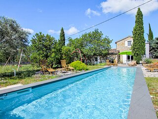 Awesome home in Alba la Romaine with Outdoor swimming pool, WiFi and Outdoor swi