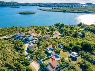 Nice home in Pula with Outdoor swimming pool, WiFi and 2 Bedrooms (CIB491)