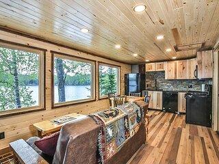 New! Charming cottage on Little Saint Germain Lake.
