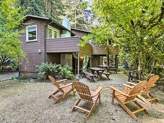 NEW! 'La Rivière Russe' Between River & Redwoods!
