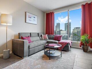 Simply Comfort. Unbelievable View 2BR 2BA Penthouse. Free park