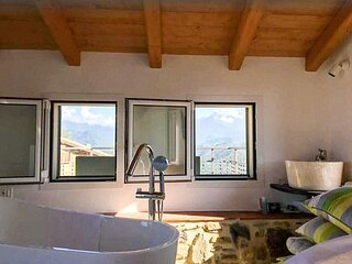 Penthouse with Views of the Alps, Perinaldo.