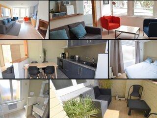 Appartement 4 personnes Dunkerque Plage - Wifi et parking gratuits