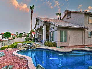 NEW! Lakefront Home w/ Pool, Hot Tub, & Boat Dock!