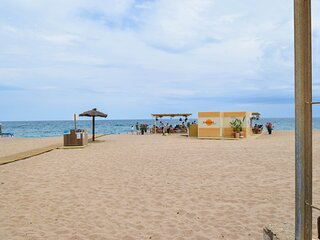 Apartment on first line sea. Capacity 6 people. Begur