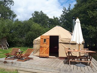 Luxury Yurt Retreat in Sussex Countryside